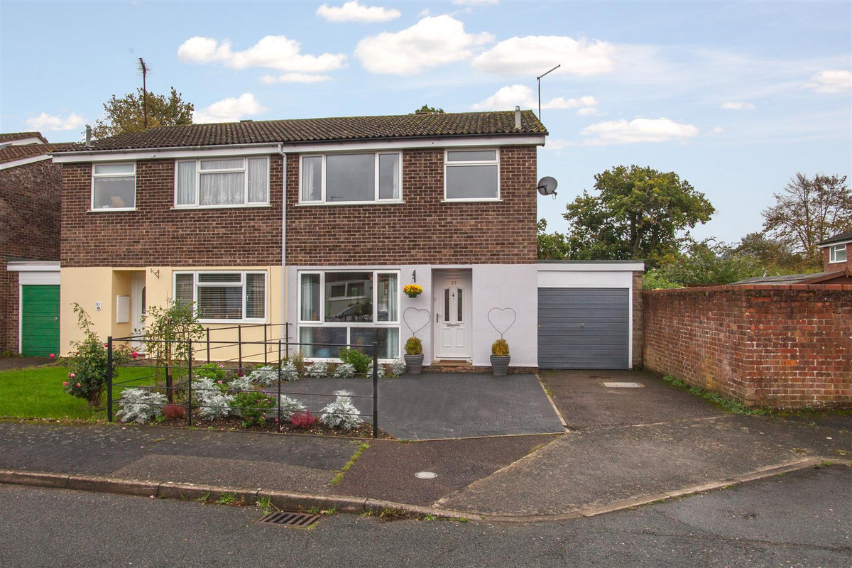 A superbly presented semi detached home in a popular cul-de-sac offering three bedrooms, lounge/diner, fantastic contemporary kitchen and a driveway with garage. The rear garden is generously sized with a south-easterly...